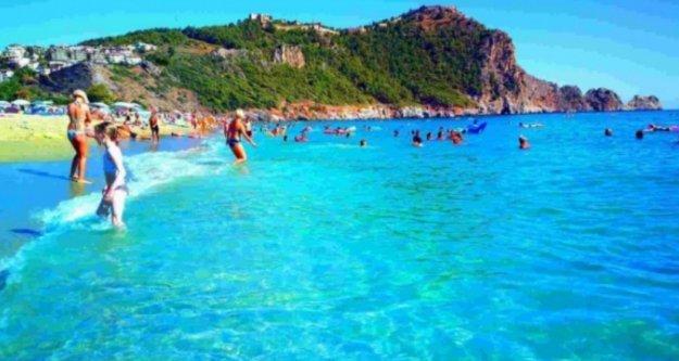 Alanya'nın Kleopatra Plajı Türkiye'de ilk 20'de