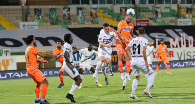 Alanyaspor, Denizli'yi 1-0'la geçti