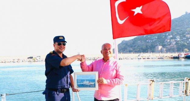 ALTSO Başkanı Şahin'e şükran belgesi