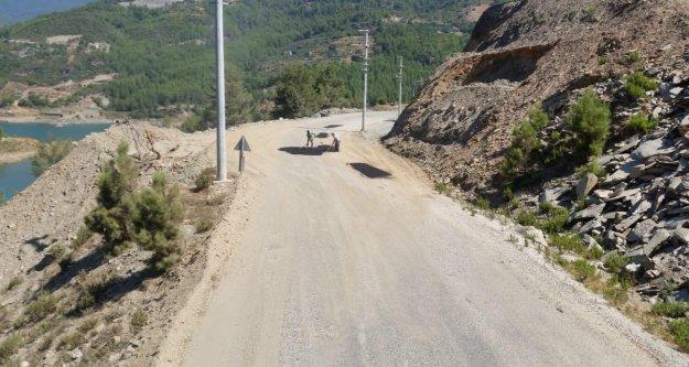 Dikkat! Alanya'daki o yol bakıma alındı