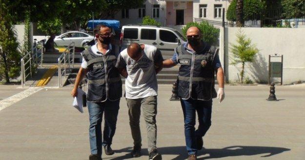 Girdiği villadan 35 bin TL değerinde altın çalan zanlı yakalandı! Alanya Cezaevine teslim edildi