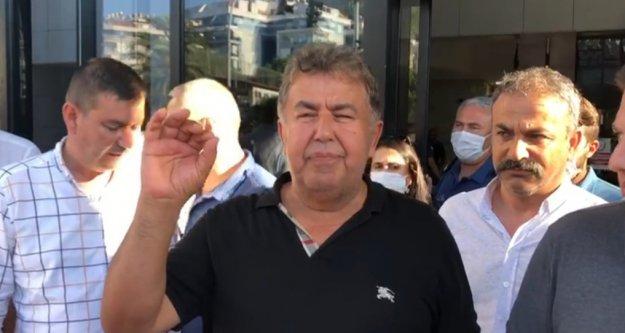 Serbest kalan Kerim Aydoğan'dan adliye çıkışında ilk açıklama