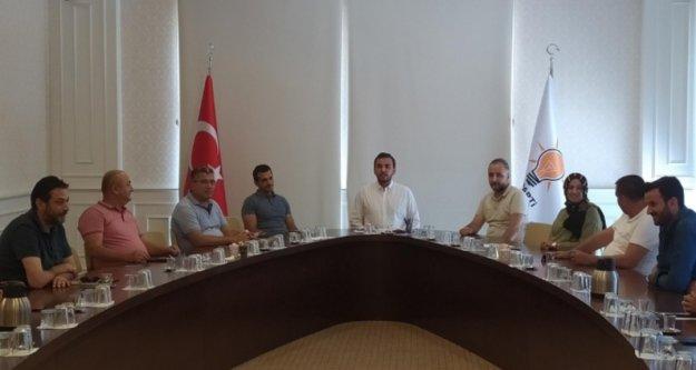 Toklu'dan Alanyalılara Ankara raporu