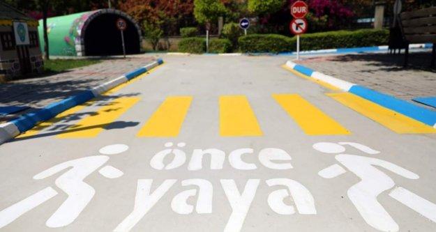Trafik Eğitim Parkı yenilenen yüzüyle hizmete açılıyor