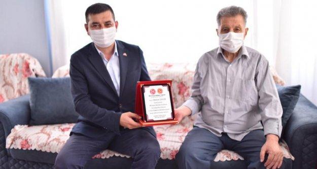Türkdoğan'dan vefa örneği