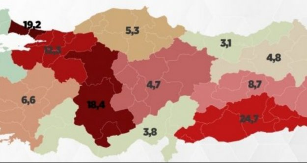 Türkiye'nin Korona haritasında Antalya'nın ölüm oranı belli oldu