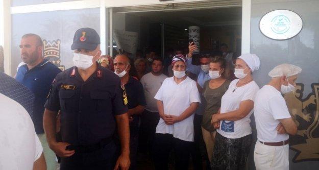 Alanya'da kaçak otele mühürlemeye benzinli direniş