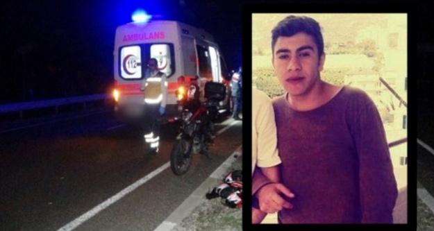 Alanya'da motosiklet direğe çarptı; 1 ölü, 1 yaralı var