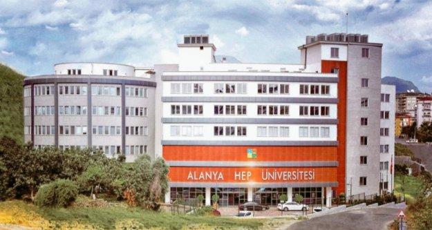 Alanya HEP Üniversitesi'nde büyük şok