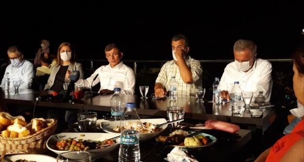 Alanya'ya gelen Davutoğlu'nun Kuşyuvası yolu üzüntüsü