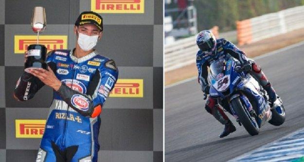 Alanyalı milli motosikletçi gururlandırdı