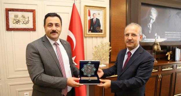 Antalya Başsavcısı İnal'dan Rektör Kalan'a ziyaret