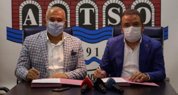 Böcek ile Şahin protokol imzaladı