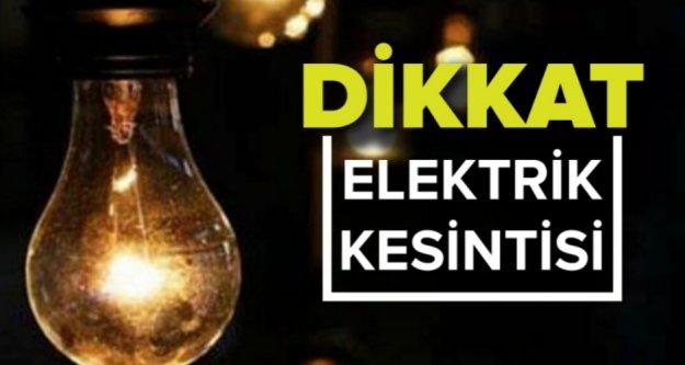 Dikkat! Alanya ve Gazipaşa'da elektrik kesintisi var