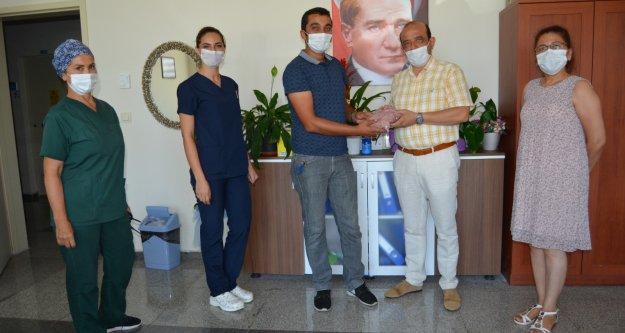 Hastane yönetimi sağlık çalışanlarını yalnız bırakmadı
