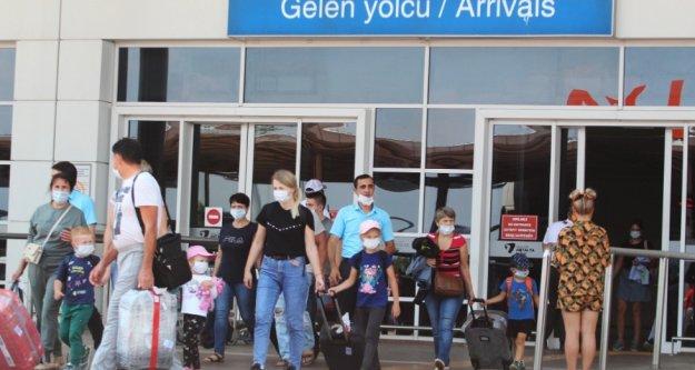 İşte 2 ayda Antalya'ya gelen turist sayısı