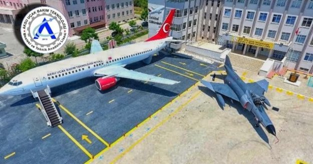 Uçak Bakım Lisesi, alanında birinci sırada yerini aldı
