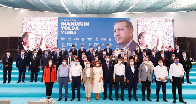 Ak Parti'de Mustafa Toklu güven tazeledi