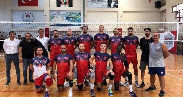 Alanya Belediyespor Alanya Cup şampiyonu oldu