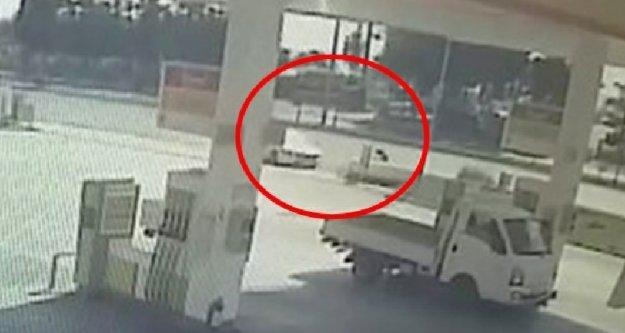Alanya'da 9 yaşındaki çocuğun ölümü kameraya böyle yansıdı