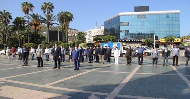 Alanya'da 'Gaziler Günü' kutlandı