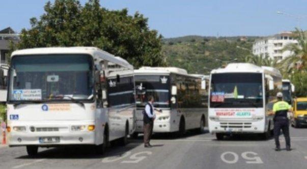 Alanya'da toplu taşıma araçları için yeni kararlar alındı