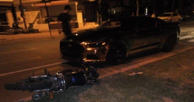 Alanya'da otomobil ve motosiklet çarpıştı: 2 yaralı