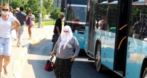 Alanyalılar dikkat! Halk otobüsüne binmek için zorunlu hale geldi