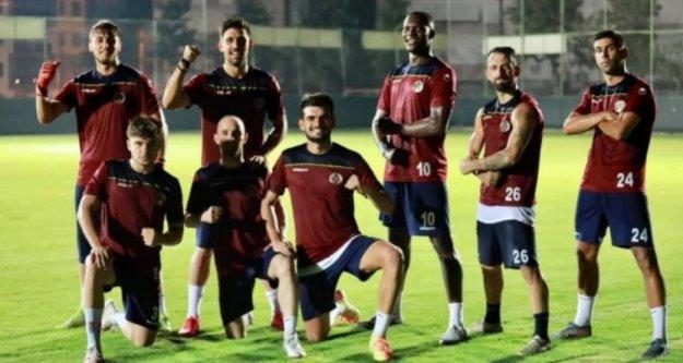 Alanyaspor, Kayserispor maçına hazırlanıyor