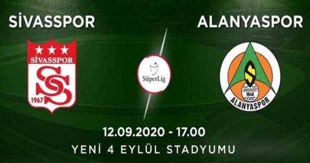 Alanyaspor'un Sivas 11'i belli oldu