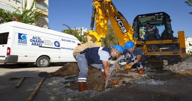 Alt yapıya 390 milyon 703 bin TL'lik yatırım yapıldı