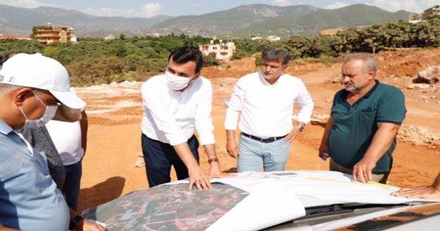 Antalya- Alanya otoban projesi yerinde incelendi