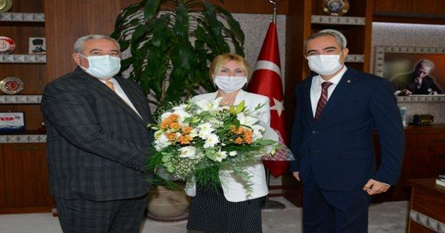 ATSO Başkanı Çetin: ' AÜ ile her konuda işbirliği halindeyiz.'