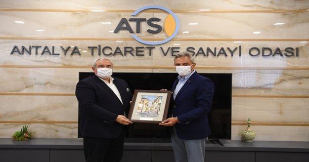 ATSO Başkanı Çetin: ' Pandemi en çok turizmi etkiledi, şehirlere ve sektörlere özel destekler sağlanmalı'