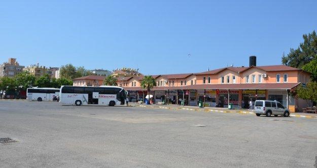 Büyükşehirden Alanya Otogarı'nda yenileme çalışması