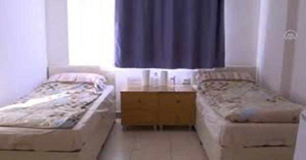 Ev karantinasına uymayan 15 kişi yurtlara yerleştirildi