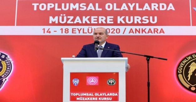 İçişleri Bakanı Süleyman Soylu'dan sert açıklamalar:
