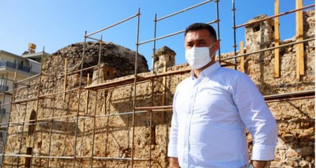 Oba'da tarih Alanya Belediyesi ile yeniden canlanıyor