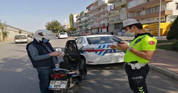 308 bin 770 motosiklet denetlendi, 75 bin 894'üne ceza uygulandı