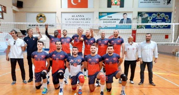 Alanya Belediyespor Konya'yı geçip 3'te 3 yaptı