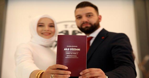 Alanya'da evlilik için 10.10.2020 tarihini seçtiler