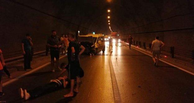 Alanya'da tünelde can pazarı