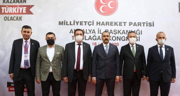 Alanya'dan 4 isim MHP Üst Kurul Delegesi oldu