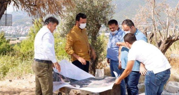 Alanya'nın otoban projesini birlikte incelediler