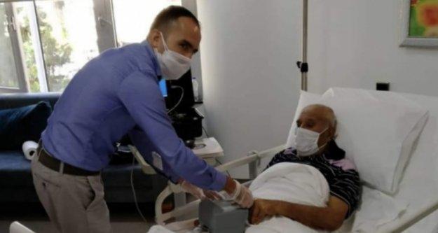 Alanya Nüfus Müdürlüğü hizmeti hasta vatandaşın ayağına götürdü