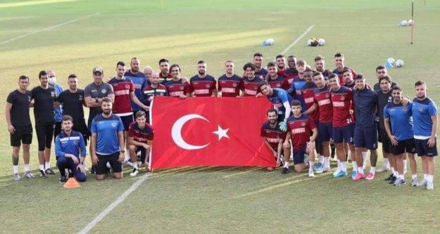 Alanyaspor, Göztepe hazırlıklarını sürdürdü