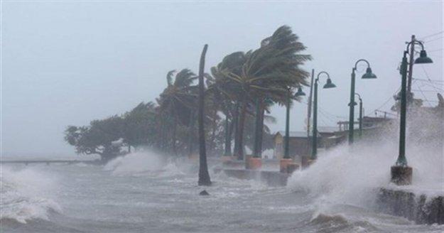 Antalya'da 5 ilçe için kuvvetli rüzgar ve fırtına uyarısı