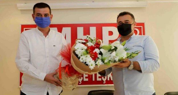 Başkan Yücel'den MHP'ye hayırlı olsun ziyareti