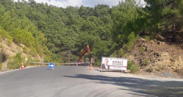 Büyükşehirden Alanya'daki bu yolu kullanan sürücülere önemli uyarı