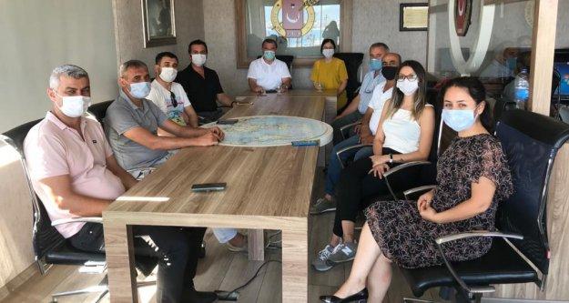CHP Alanya'dan AGC'ye ziyaret